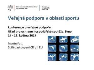 Veejn podpora v oblasti sportu konference o veejn