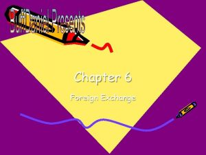 Chapter 6 Foreign Exchange Exchange Rates Rates at