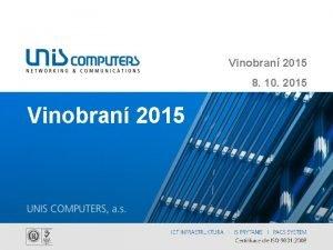 Vinobran 2015 8 10 2015 Vinobran 2015 Vinobran