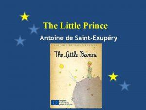 The Little Prince Antoine de SaintExupry The Little