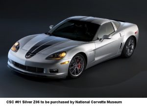 CSC 01 Silver Z 06 to be purchased