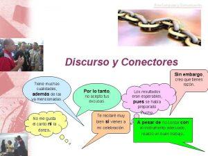 Discurso y Conectores Sin embargo Tiene muchas cualidades