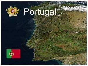 Portugal Mediteran Zemljovid Portugal je zemlja smjetena na