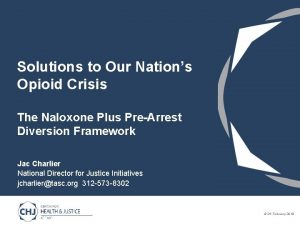 Solutions to Our Nations Opioid Crisis The Naloxone