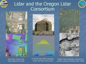 Lidar and the Oregon Lidar Consortium Beaverton photo
