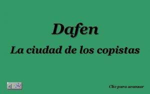 Dafen La ciudad de los copistas Clic para