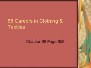 68 Careers in Clothing Textiles Chapter 68 Page