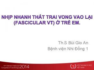 Th S Bi Gio An Bnh vin Nhi