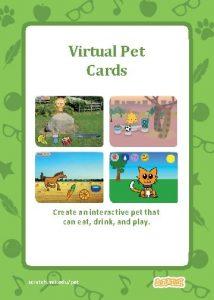 Virtual Pet Cards Create an interactive pet that