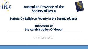 Australian Province of the Society of Jesus Statute