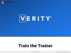 Train the Trainer Hart Inter Civic Inc 6661