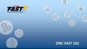 ONC FAST 101 FAST Taskforce Antitrust Notice The