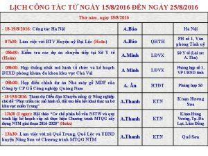 LCH CNG TC T NGY 1582016 N NGY