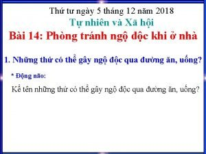Th t ngy 5 thng 12 nm 2018