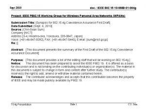 Sept 2010 doc IEEE 802 15 10 0669