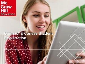 Connect Canvas Student Registration Connect Canvas Student Registration