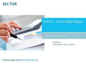 CIPFA North West Region Warrington 28 th June