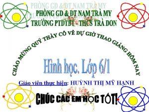 Gio vin thc hin HUNH TH M HNH