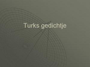 Turks gedichtje BRIEF VAN ALI AAN ZIJN VROUW