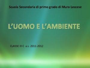 Scuola Secondaria di primo grado di Muro Leccese