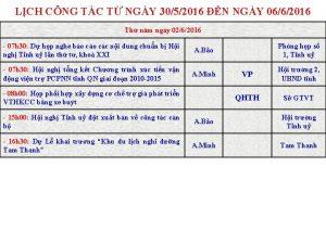 LCH CNG TC T NGY 3052016 N NGY