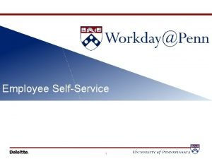 Communications Update Employee SelfService 1 Workday Means Different