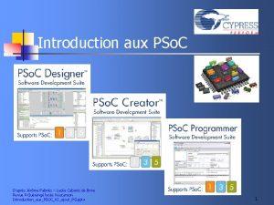 Introduction aux PSo C Daprs Jrme Fabris Lyce