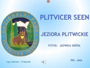 PLITVICER SEEN JEZIORA PLITWICKIE FOTOS JADWIGA SKRA Logo