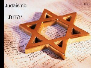 O que ser Judeu Ser judeu no apenas