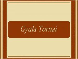 Gyula Tornai foi um pintor orientalista que nasceu