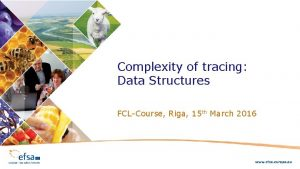 Complexity of tracing Data Structures FCLCourse Riga 15