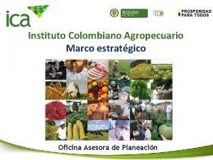 Min Agricultura Ministerio de Agricultura y Desarrollo Rural
