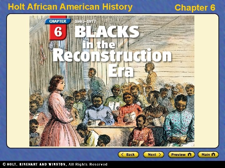 Holt African American History Chapter 6 Holt African