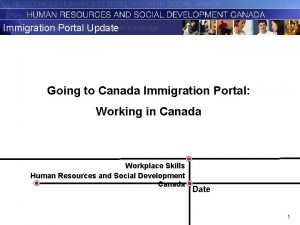 Immigration Portal Update Going to Canada Immigration Portal