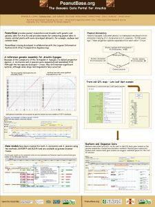 Peanut Base org The Genomic Data Portal for