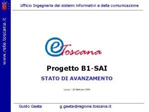 Ufficio Ingegneria dei sistemi informativi e della comunicazione