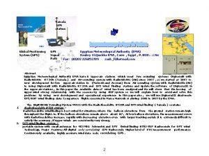 Vaisala GPS station Global Positioning System GPS GPS