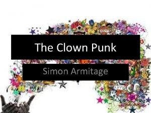 The Clown Punk Simon Armitage Who is Simon