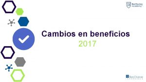 Cambios en beneficios 2017 Medical Elite BENEFICIOS Autismo
