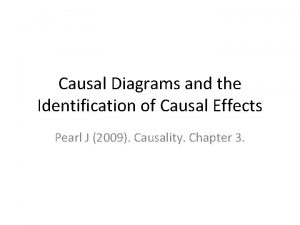 Causal Diagrams and the Identification of Causal Effects