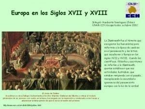 Europa en los Siglos XVII y XVIII Integr