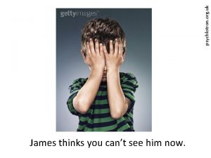 psychlotron org uk James thinks you cant see