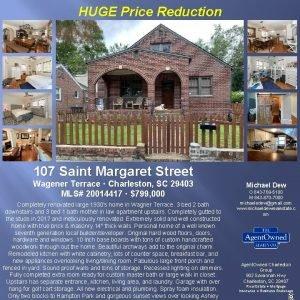 HUGE Price Reduction 107 Saint Margaret Street Wagener