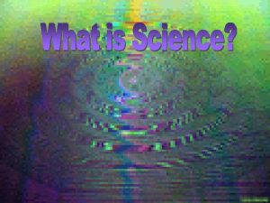 Science According to the National Academy of Sciences