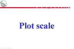 FE 537 Plot scale Oregon State University FE