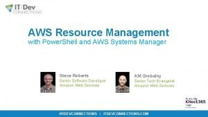 AWS Resource Management with Power Shell and AWS