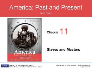 America Past and Present Ninth Edition Chapter 11