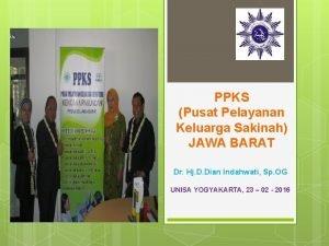 PPKS Pusat Pelayanan Keluarga Sakinah JAWA BARAT Dr