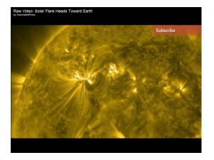 March 8 th 2012 Sun Sends Solar Flares