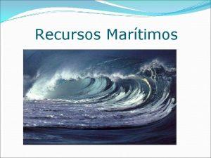 Recursos Martimos Mar Mar sonoro mar sem fundo